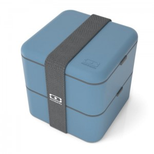 Monbento lunchbox Bento Square - Blue Denim