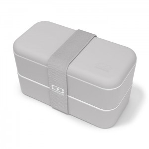 Monbento lunchbox Bento Original -  Grey Coton