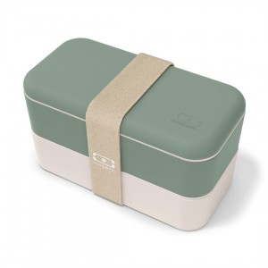 Monbento lunchbox Bento Original -  Natural Green