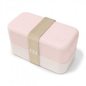 Monbento lunchbox Bento Original -  Natural Pink