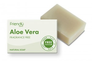 Friendly Soap naturalne mydło Aloe Vera - 95g